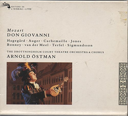 Mozart-Don Giovanni-Dir.Arnold Ostman-Orch&Choeur Drottningh Olm Court Thea-Cachemaille G-Hagegard H-