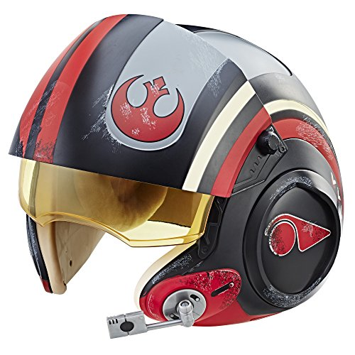 Star Wars The Black Series Die letzten Jedi EP 8 - Poe Dameron X-Wing Pilot Deluxe Helm