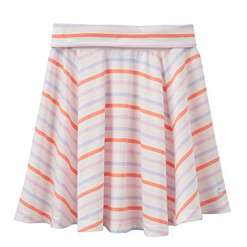 Joules Junior Izzie Skater Skirt in Multi Stripe-3-4 years