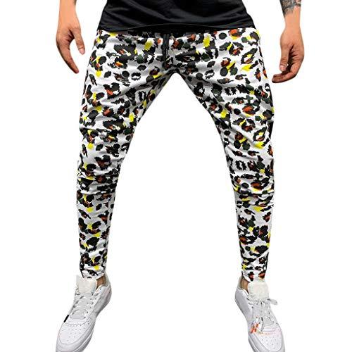 serliyHerren Cargo Hose Jogging Pants Chino Slim Fit Camouflage-Freizeithose mit Mehreren Taschen Overalls Lässige Pocket Sport Work Hosenhose (Kostüm Ringe Aus China)