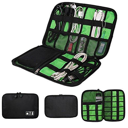 Gracorgzjs Reise-USB-Stick, Kabel-Organizer, Tasche für Kopfhörer, Digitale Aufbewahrungstasche 1# Digitale Reise-tasche