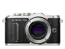 Olympus PEN E-PL8 Kompakte Systemkamera (16 Megapixel, elektrischer Zoom, Full HD, 7,6 cm (3 Zoll) Display, Wifi) schwarz