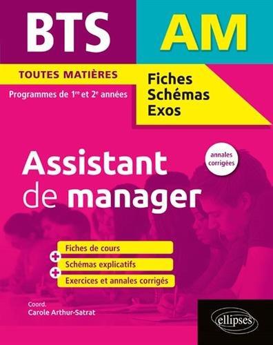 BTS Assistant de manager par Carole Arthur