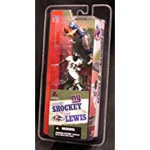 "Mcfarlane 3"" NFL 2-packs Ray Lewis and Jeremy Shockey"