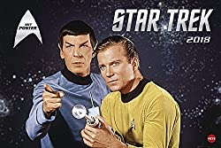 Star Trek Broschur XL - Kalender 2018
