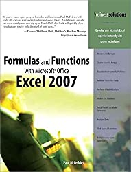 [(Formulas and Functions with Microsoft Office Excel 2007)] [By (author) Paul McFedries] published on (March, 2007)