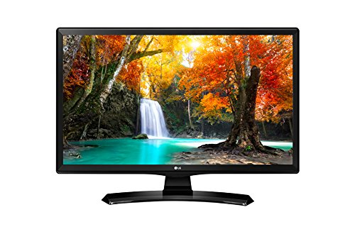 LG 24MT49S-PZ - Monitor TV de 24' (60 cm, Smart TV LED HD, 1366 x 768 Pixels, Modo Cine, Modo Juego), Color Negro Brillante