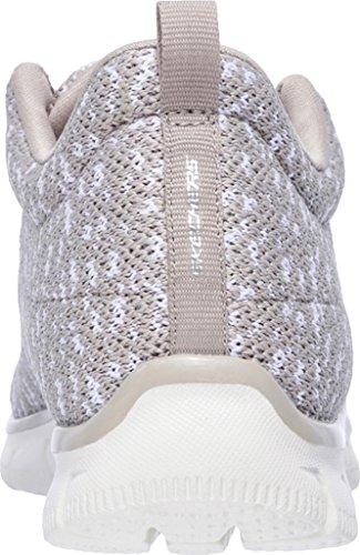 Basket, couleur Brun clair , marque SKECHERS, modèle Basket SKECHERS EMPIRE CONNECTIONS Brun Clair Brun clair