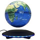 woodlev-Maglev-levitacin-magntica-Levitron-flotante-giratoria-transmisin-inalmbrica-Control-tctil-tres-engranajes-6-globo-azul-negro-plataforma-LED-ajuste-decoracin-del-hogar