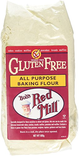 Bob's Red Mill Gluten Free All Purpose Baking Flour 600 g (Pack of 2