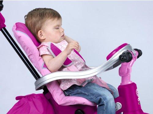 Imagen 7 de FEBER - Triciclo Baby Twist Niña (Famosa 800007099)
