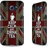 Hülle / Case für das Samsung Galaxy S6 mit Designer Motiv - ''Drink Tea'' von caseable