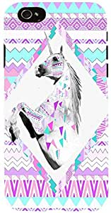 Snoogg HORSE AZTEC Case Cover For Apple Iphone 6 iphone 6