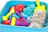 Premium Kinetischer Sand - Meer Set - HUKITECH Kreatives Spiel Kinetics Basteln Familienspiel Lernspiel - Bastelspiel mit hohem Spaßfaktor wie Kroko doc
