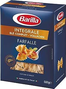 Barilla Pâtes Farfalle Intégrale Blé Complet 500 g