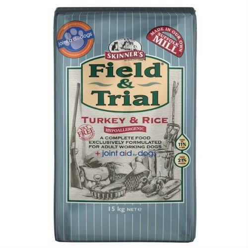 Skinners Field and Trial Turkey Rice and Joint Aid Dogs Food 15kg