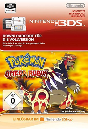 Pokémon Omega Rubin [3DS Download Code]