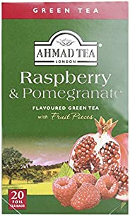 Ahmad Tea Raspberry & Pomegranate Flavoured, 20 Tea Bags