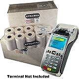 eposbits® Marke Full Größe große Rollen zu für Verifone Vx Silber vx520C VX 520C Kreditkarte Terminal?60Rollen