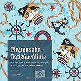Piratensohn-Notizbuchlinie: Meuterei und das Hinterlassen von Einträgen ausdrücklich erlaubt (Variante: kids&cats)
