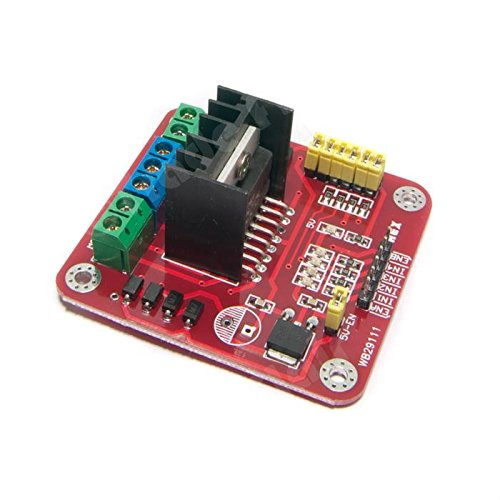 L298N DC and Stepper Motor Dual Drive H-Bridge Module - 6V to 35V by Make Nation