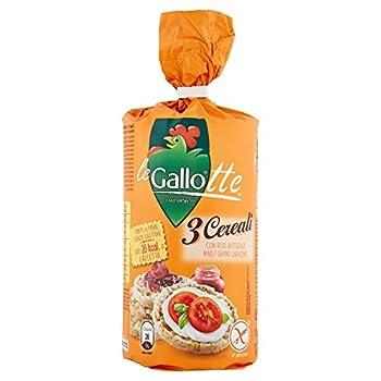 Riso Gallo Galettes aux 3 Céréales sans Gluten 100 g