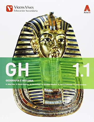 GH 1. Geografía E Historia. Libro 1 Y 2. Aula 3D - 9788468230368