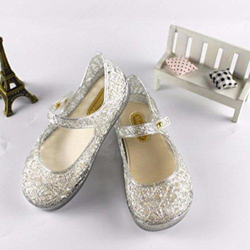 Igemy 1 Paar Neugeboren Mädchen Jungen Krippe Soft Sohle Anti-Rutsch Baby Camouflage Sneakers Stiefel Schuhe Silber