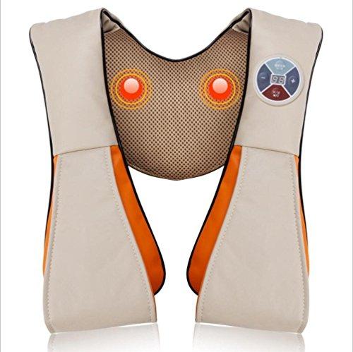 Schulter-Massage mit Schalkragen SchulterMassager Cape Massage Instrument Zurück Halswirbel Massagegerät Comfort Halswirbelsäule , white5