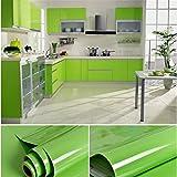 ECYC Wandaufkleber Selbstklebende Badezimmer Küchenmöbel Wasserdichte Tapeten, 3Mx0.6M