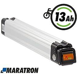 Maratron Akku XH370-10J für E-Bike Pedelec 37V 13Ah (52cm!) mit Samsungzellen