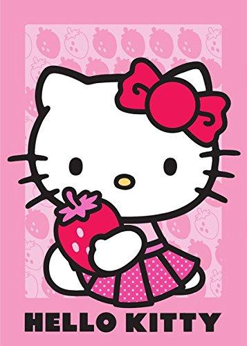 Hello Kitty Alfombra infantil (133cm x 95cm