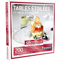 SMARTBOX - Coffret Cadeau - TABLES ÉTOILÉES ET TABLES D'EXCELLENCE - 200 restaurants avec 60 tables étoilées du guide MICHELIN