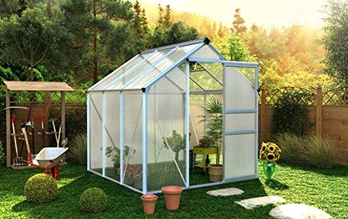 Serre de jardin polycarbonate 4,8m²