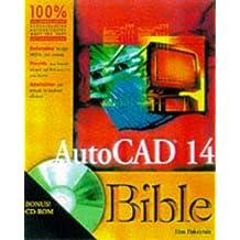 Autocad 14 Bible by Finkelstein, Ellen (1997) Paperback