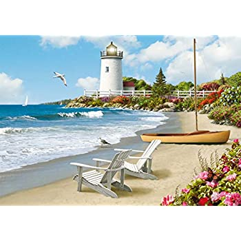 Ravensburger Sunlit Rivages 300 PC Grand Format Puzzle