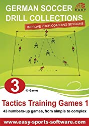 Tactics Training Games 1 (German Soccer Drill Collections Book 3)