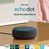 Das neue Echo Dot (3. Gen.) Intelligenter Lautsprecher mit Alexa, Anthrazit Stoff - 2