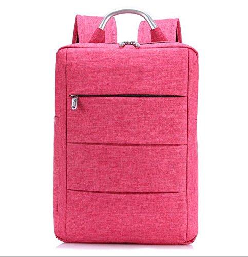 Z&HXComputer Rucksack Laptoptaschen Laptop-Tasche und weise beil?ufige wasserdichte Multifunktions rose red