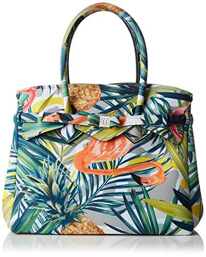 Save My Bag Miss, Sac à main pour femme Multicolore (Multicolore (Tropical))