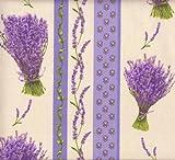 Baumwollstoff | Bündel von Lavendel (Streifen) - Neue