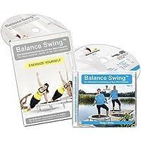 Balance Swing - Kombi Angebot: DVD Energize Yourself + Musik CD (Balance Swing Vol. 04) für das Workout auf dem Mini-Trampolin
