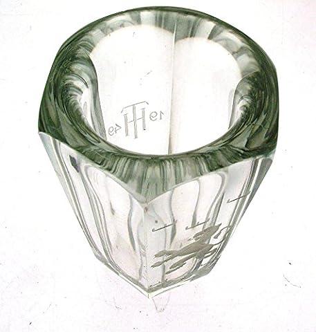 Gravé Signé KOSTA Trophée en verre th