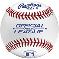 Rawlings ROLB1–Pelota oficial Liga recreativas grado pelotas (una docena)