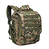 zhang-hongjun,Zaino Trend Urban Camouflage Zaino Outdoor Borsa a spalla diagonale impermeabile(color:Jungle digitale)