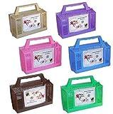 Kleintierbox Hamster Mäuse Box Transportbox (Pink)