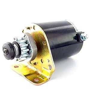 Démarreur électrique 14 dents adaptable sur BRIGGS & STRATTON pour moteur de forte puissance 16 à 19,2 ch