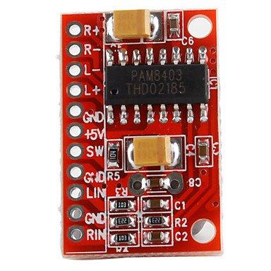 3W×2 Mini Amplificateur Audio Numérique Conseil DC5V