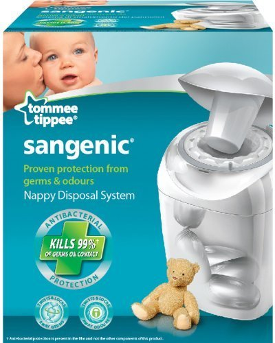 Tommee Tippee Sangenic Hygiene Plus Nappy Disposal System by Mayborn Baby & Child