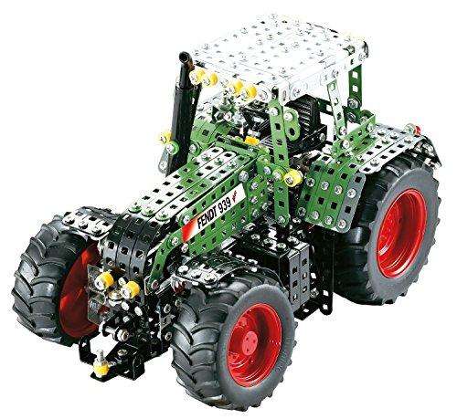 Tronico 10065 - Metallbaukasten Traktor Fendt 939 Vario, Profi Serie, Maßstab 1:16, 1095-teilig, grün